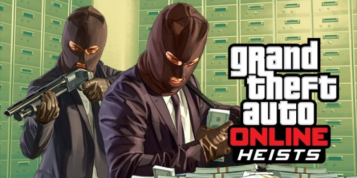 Online Heists Are Now Available In GTA V