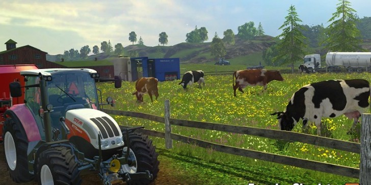 It's Just A Sunny Day With 'Farming Simulator 15's Console Launch Trailer