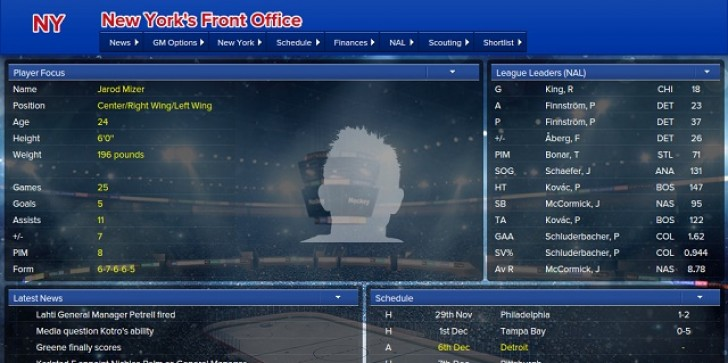 Early Access Sim 'Eastside Hockey Manager' From 'Football Manager' Developers Continues To Improve, Add Features