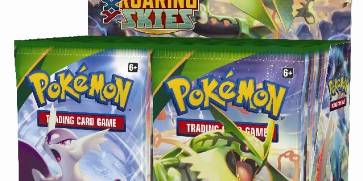 Gotta Catch All The Roaring Skies Expansion Cards For Pokemon: TCG - XY Next Month