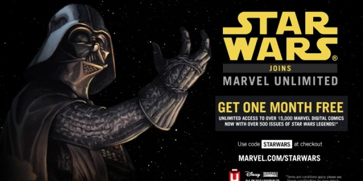Get A Free Month Of Marvel Unlimited With This New 'Star Wars Legends' Promo