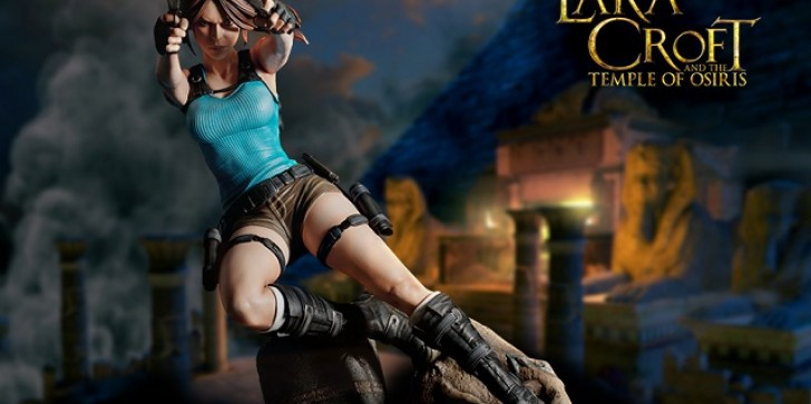 'Lara Croft And The Temple Of Osiris' Is The Latest Gaming Heads Collectible Figure You Need To Own