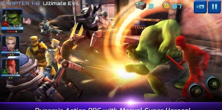 'Marvel Future Fight' Downloads Reach 10 Million In Two Weeks on iOS & Android