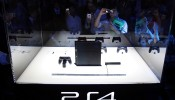 Sony's PS4 on display
