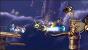 Rayman Origins is a platform video game developed by Ubisoft Montpellier and published by Ubisoft.