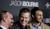 Matt Damon arrives ahead of the Jason Bourne Australian Premiere at Hoyts Entertainment Quarter on July 3, 2016 in Sydney, Australia.