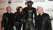 The Elder Scrolls V: Skyrim Official Launch Party - Red Carpet