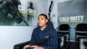 Jordan Clarkson Stops By E3 To Check Out 'Call Of Duty: Infinite Warfare'