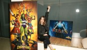 Marvel Agents of S.H.I.E.L.D. actress Chloe Bennet celebrates 'Women of Power' with Marvel Contest of Champions mobile game