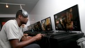 Julius Randle Visits Activision's Call Of Duty: Black Ops 3 Booth At The E3 Convention