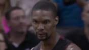 Chris Bosh poster dunk Game 2