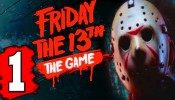 Friday the 13th: The Game Gameplay Walkthrough Part 1 (Friday the 13th Extended Gameplay Demo)