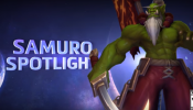 Samuro Spotlight – Heroes of the Storm