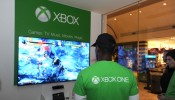 Microsoft Retail Store Hosts Xbox One Midnight Launch Event Featuring A Killer Instinct Ultra Gaming Tournament In Arlington, VA