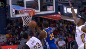 Durant leads Warriors victory against Pelicans