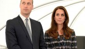 Prince William, Duke of Cambridge and Catherine, Duchess of Cambridge visit the National Graphene Institute at the University of Manchester during a visit to Manchester on October 14, 2016 in Manchest