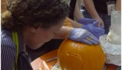 NASA Engineers created an 'out of this world' Halloween pumpkin designs.