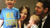Michael Buble's 3-Year-Old Son Noah Is Battling Cancer