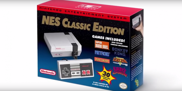 Nintendo Latest Offer: The New Nintendo Entertainment System Classic Edition