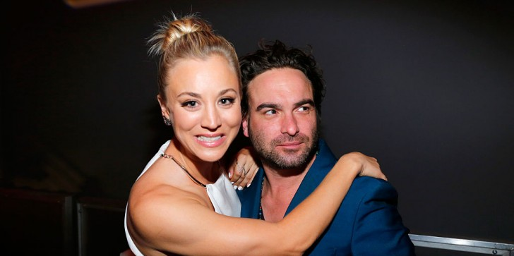 'The Big Bang Theory' Season 10 Update: Kaley Cuoco, Johnny Galecki Rock Fifty Shades Of Grey Outfits; Duo Leaving The Show?