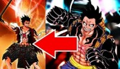 LUFFY NEW GEAR FORM ワンピース One Piece Manga Chapter 842
