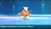 Pokemon Sun/Moon Magikarp's Powerful Z-Move