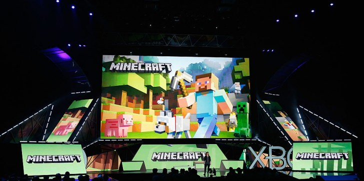 Microsoft Partnered With Minecraft To Teach Kids Programming