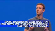 How to deal with fake news? Facebook CEO Marark Zuckerberg  has some advice!