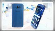The Samsung Galaxy S7 Blue Coral