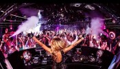 Paris Hilton plays DJ set at Marquee in Sydney