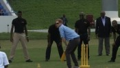 Prince Harry meets Windies cricket legends in Antigua