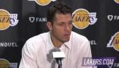 Lakers vs Bulls Postgame: Luke Walton (11/20/16)