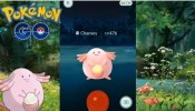 Pokemon GO - OMG!!! Wild Chansey Appears! 476 CP!