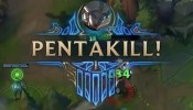 CAMILLE FIRST PENTAKILL - League of Legends