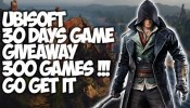 Get Free Ubisoft Games Daily - Ubisoft Official 30 Days Of Giveaway Details (300 PC & Mobile Games)