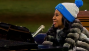 Aretha Franklin National Anthem Thanksgiving Football