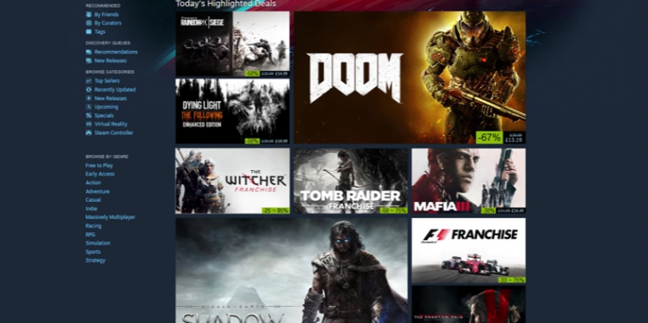 Steam Autumn Sale: 'Witcher,' 'Doom' and 'Rise of the Tomb Raider' Are on Sale