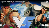 Capcom removes 'Street Fighter V' Stage 'Skies of Honor' from competitive play.