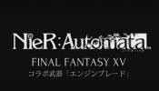 Nier: Automata Combine with Final Fantasy XV