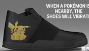 Play Pokemon Go with LED Sneakers