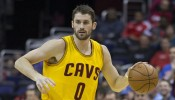 Kevin Love with the basketball