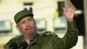 Castro Leads Massive Anti-U.S. Demo