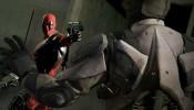 Deadpool and a gun