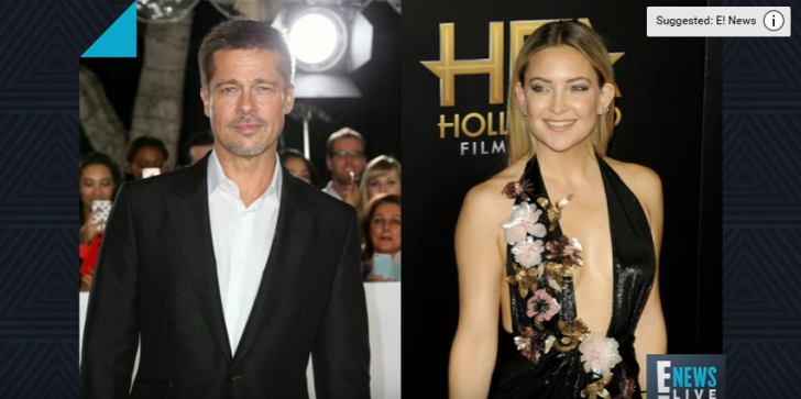 Brad Pitt News & Update: Is He Dating Kate Hudson, Romance Brewing Up! Where Is Angelina?