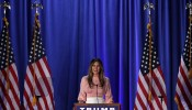 Melania Trump Campaigns For Her Husband In Pennsylvania