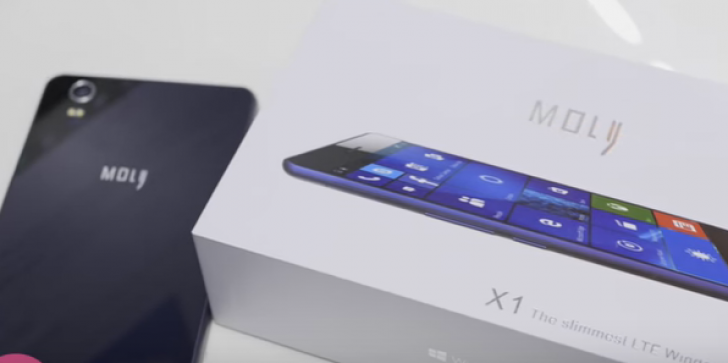Moly X1 Release Date, Specs, Features, News & Update: Lumia's New Competitor with Windows 10 OS; More Impressive Specifications, Price Details