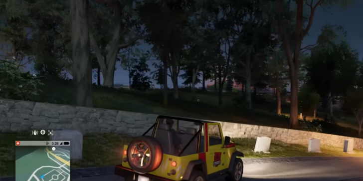 'Watch Dogs 2' Guide in Unlocking the 'Jurassic Park' Jeep in the Game