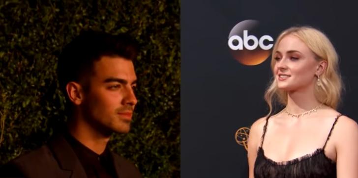 'Joe Jonas & Sophie Turner Dating Rumors' Both Attend Friend's Wedding in Malibu!