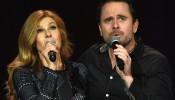 Deacon Claybourne (Charles Esten) and Rayne James (Connie Britton) of 'Nashville'