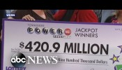 Tennessee 20 Claims $421M Powerball Jackpot